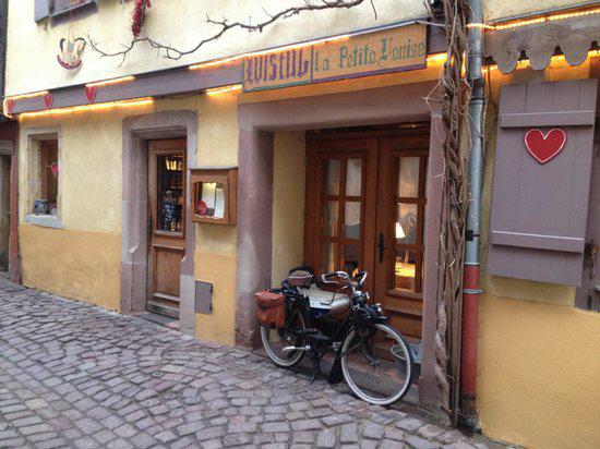 Outside Wistub de la Petite Venise